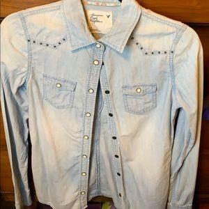 American Eagle Western Shirt